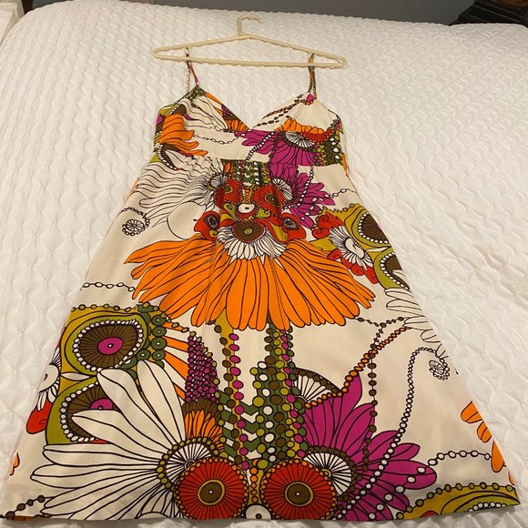 Train Turk Flower Dress